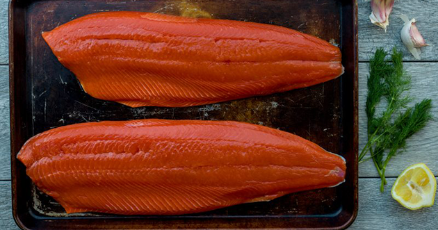 Heres Why Salmon Are Pink Orange Or Red